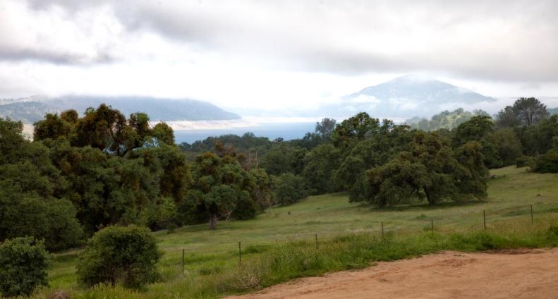 Slight view of Melones Reservoir