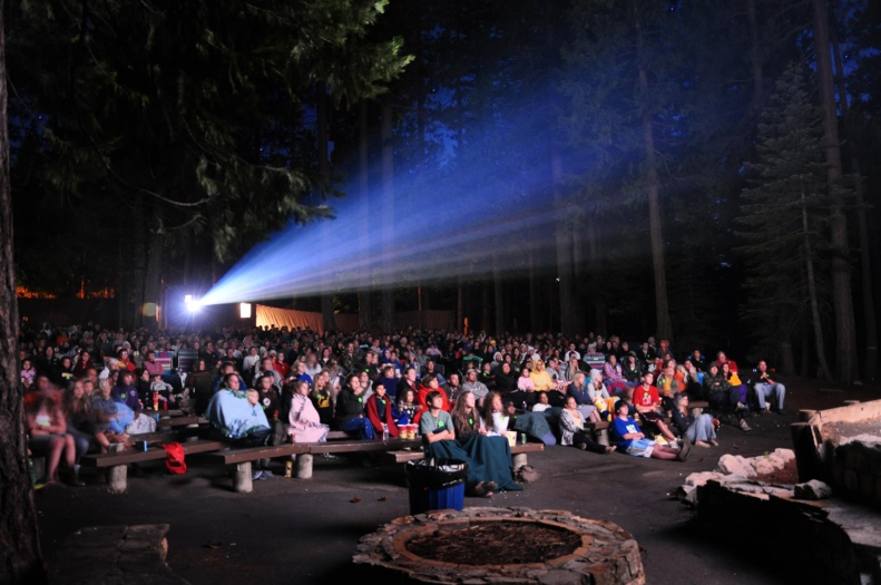 Pinecrest Amphitheater.  I did not take this picture.  I got it from the Pinecrest Lake Facebook page.