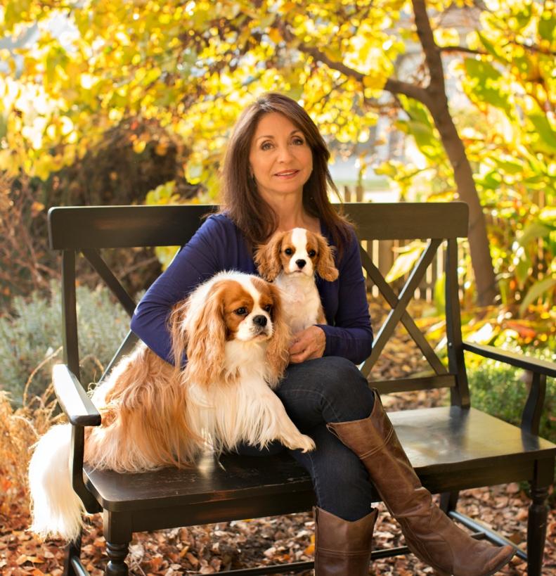 Lori with Skippy and new baby LuLu