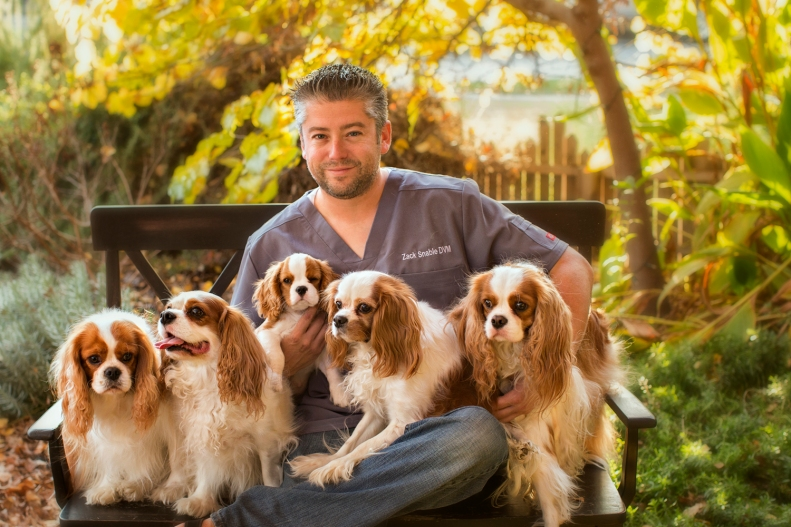 A picture for Zach's website... he is a veterinarian in Southern CA