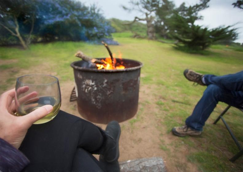 3-7-16 Sunset Beach Campfire