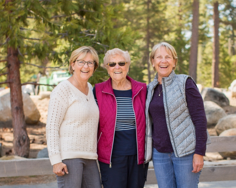 4-27-18 Mom, Joyce & I